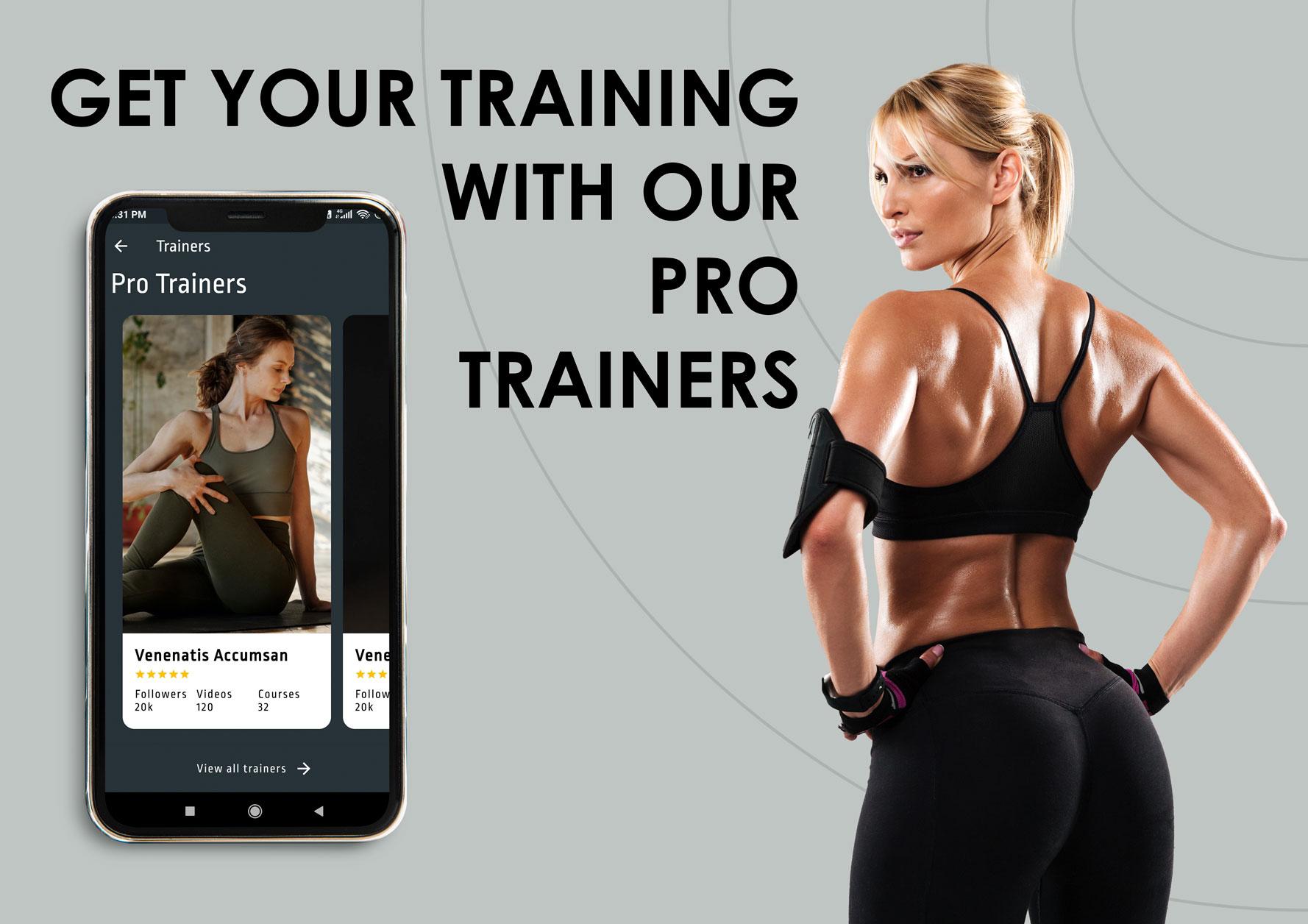 Flutter Fitness App Template - 7