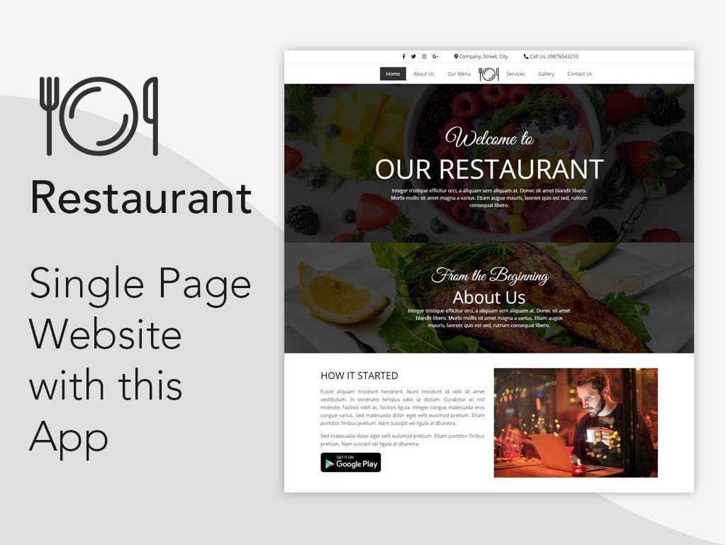 Flutter App - Restaurant Template - 3